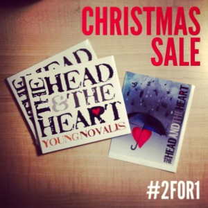 2for1 Head and Heart Christmas Sale
